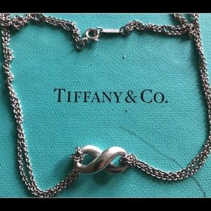 Tiffany and Co necklace infinity